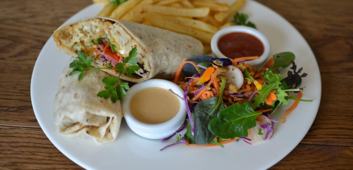 Garden Burger Wrap